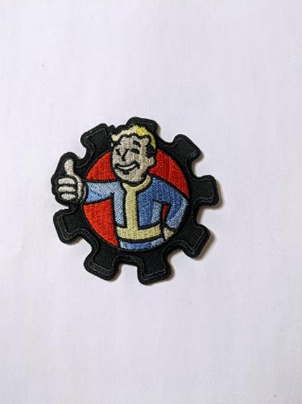Fallout Vault Boy Patch