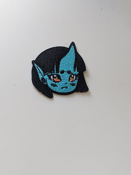 Oni Girl Patch