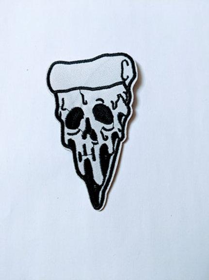 Melting Pizza Skull