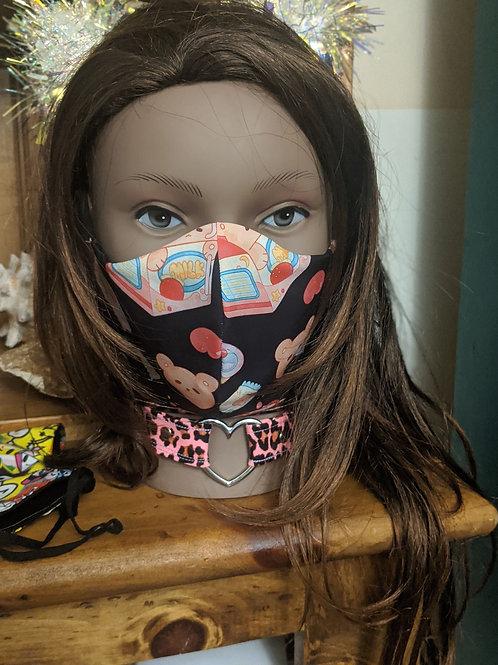 Cute Teddy Bear Mask