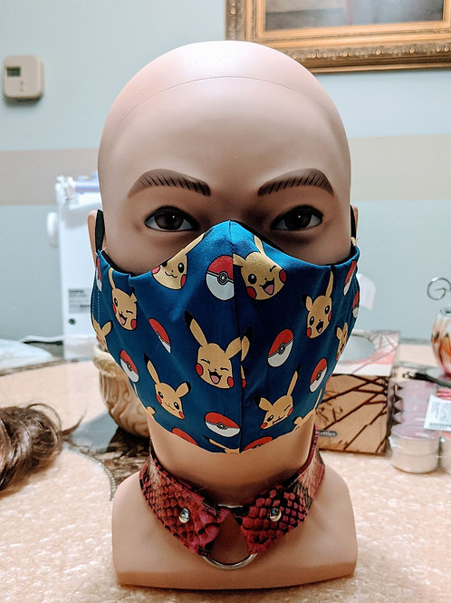 Pickachu Poke Ball Masks