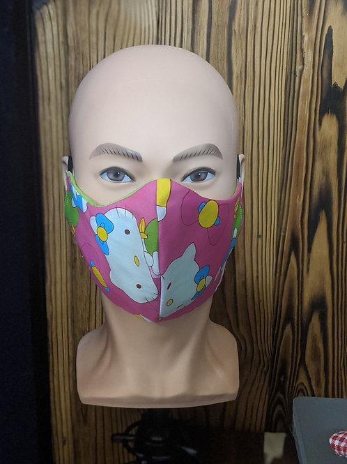 Pink Hello Kitty Mask