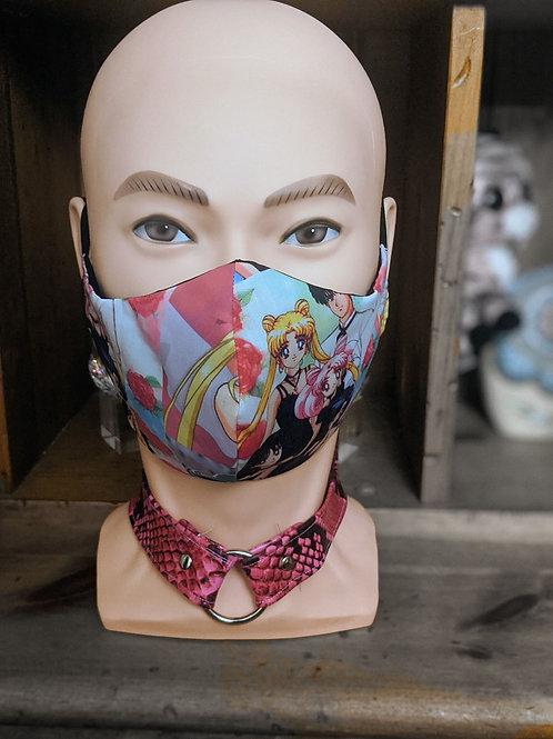 Sailor Moon Scouts Masks