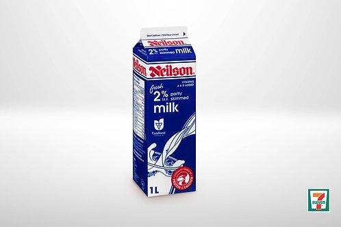 2% milk 1L