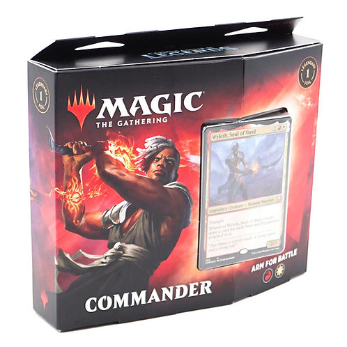 Arm For Battle Commander Deck