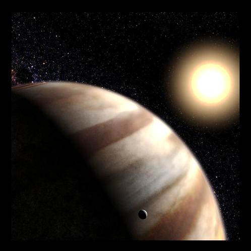 Jupiter - Hubble Photo in LED Backlit Frame