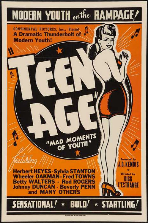 Teen Age Mad Moments of Youth
