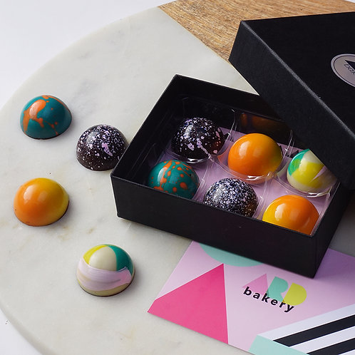 Salted Caramel Bonbons - 6 Piece Box - PRE ORDER