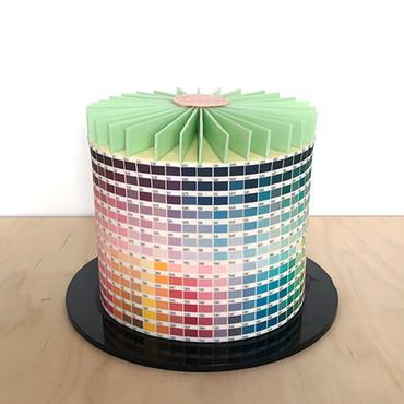 Colour Chart Cake