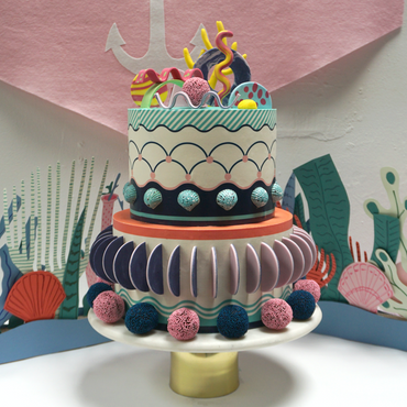 Bespokme Wedding Cake