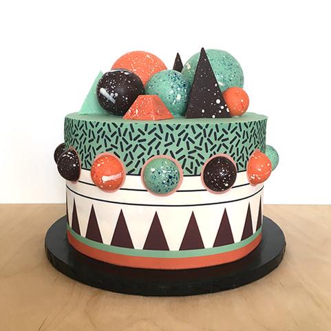 Mint Rocky Cake