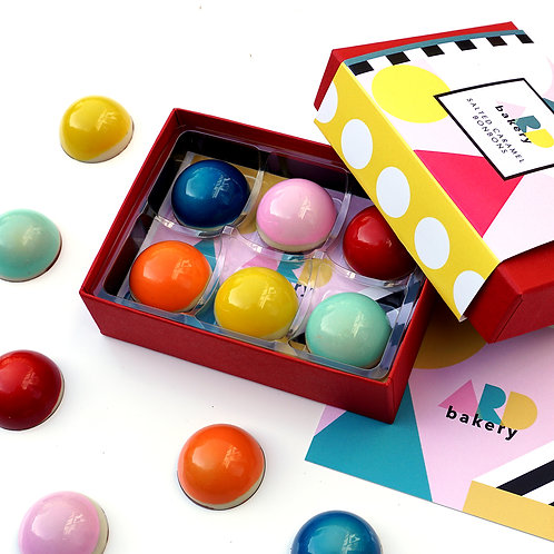 Salted Caramel Bonbons - 6 Piece Box