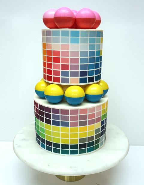 Pantone Wedding Cake