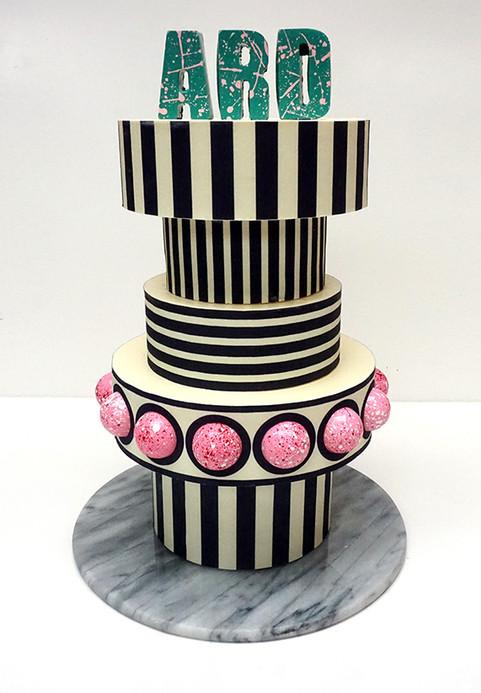 ARD Stripe Cake