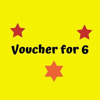 Voucher for 6