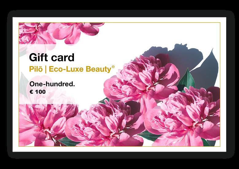 Pilō | Digital Gift Card - One-hundred.