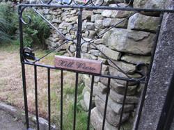Gate entrace