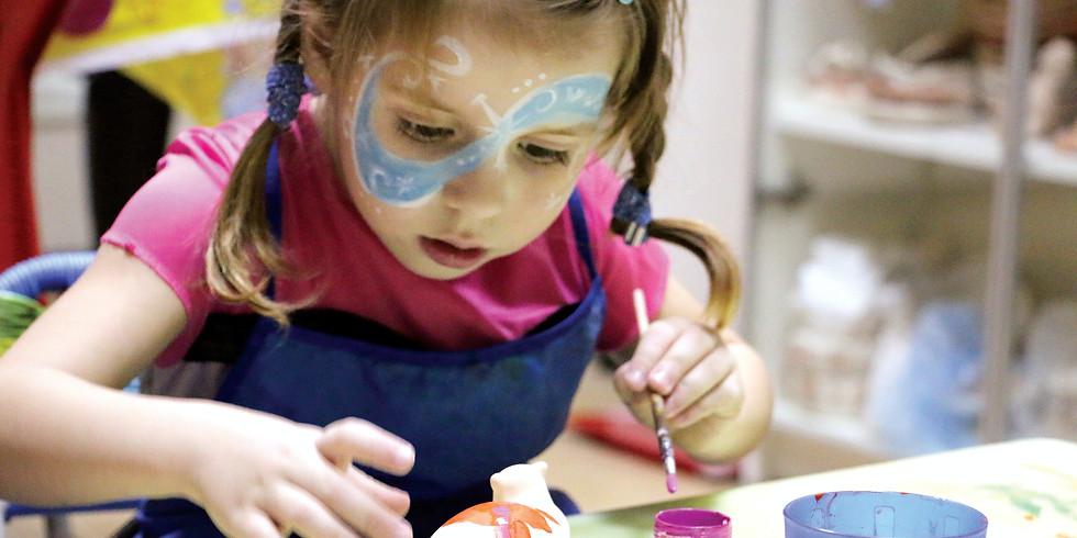 Atelier gratuit pour les enfants: L'atelier des arts