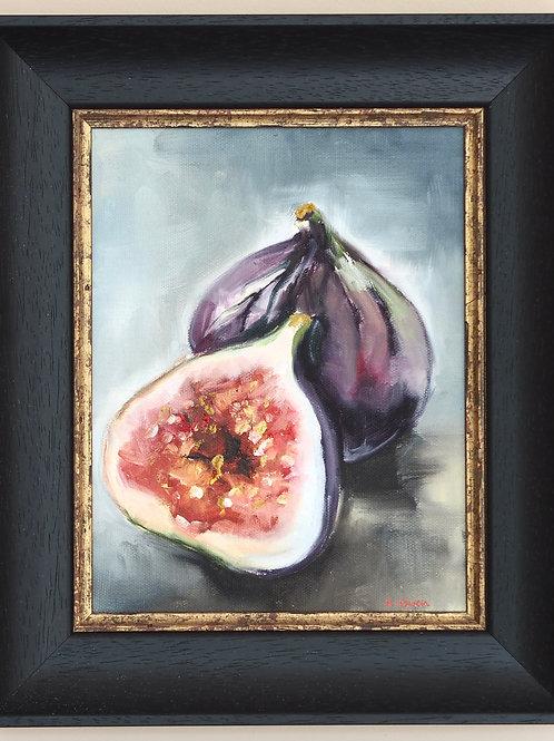 Original Oil Painting - Little Fig