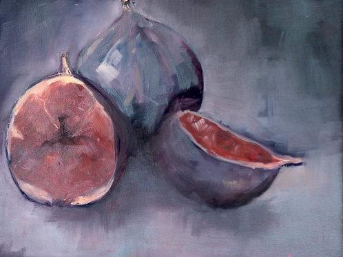 LIMITED EDITION PRINT Dark Figs