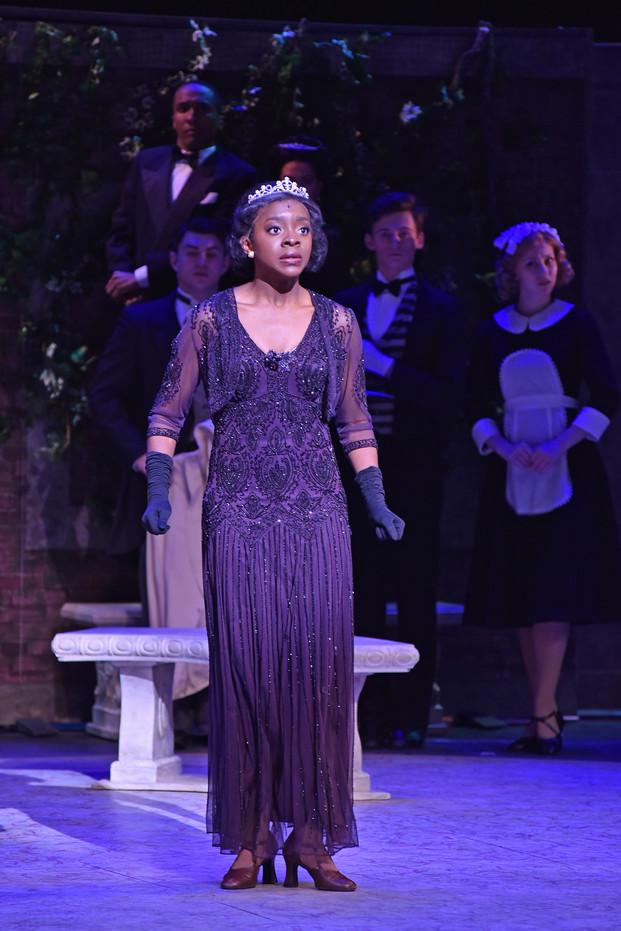 Performing as Maria, Duchess of Dene in Me & My Girl.