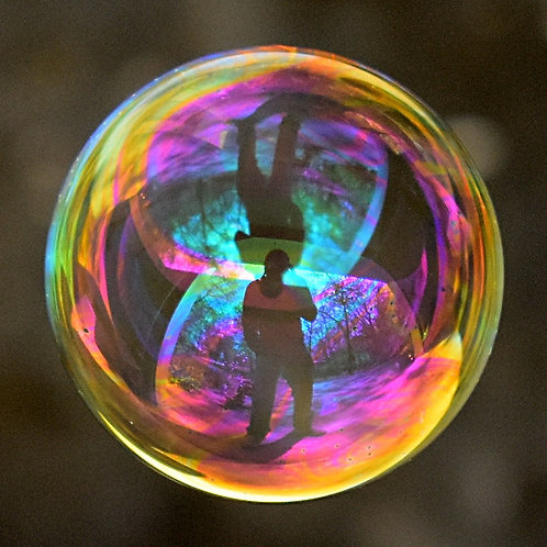 """""""Man in a Bubble"""" Fine Art Photography Print"""