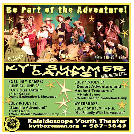 Summer Camp   Kaleidoscope Youth Theater