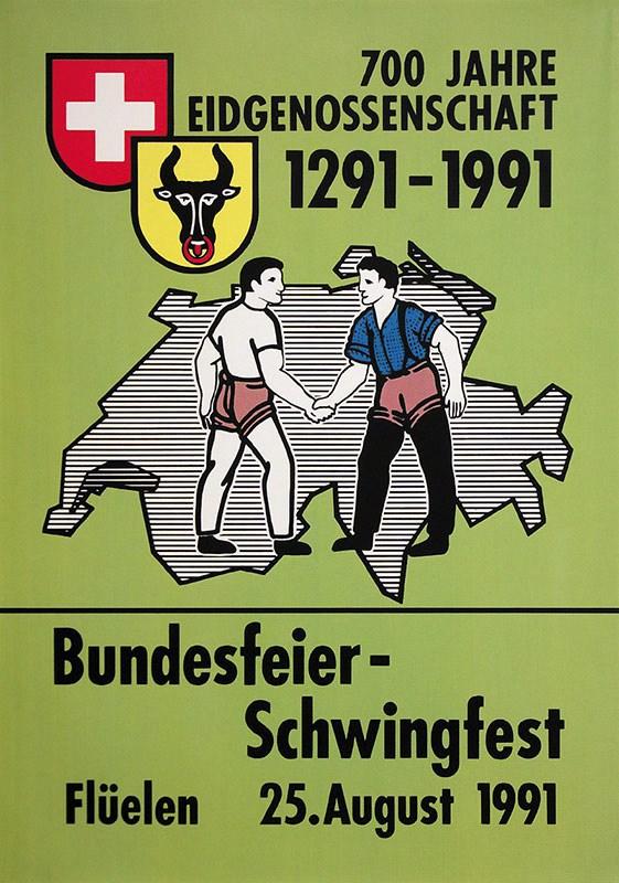 1991: Bundesfeier-Schwinget