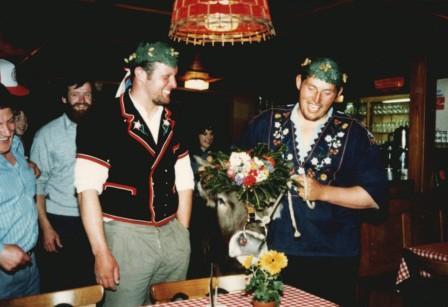 1987: Zwei Flüeler im Schlussgang