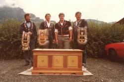 1984: Drei ISV-Kränze
