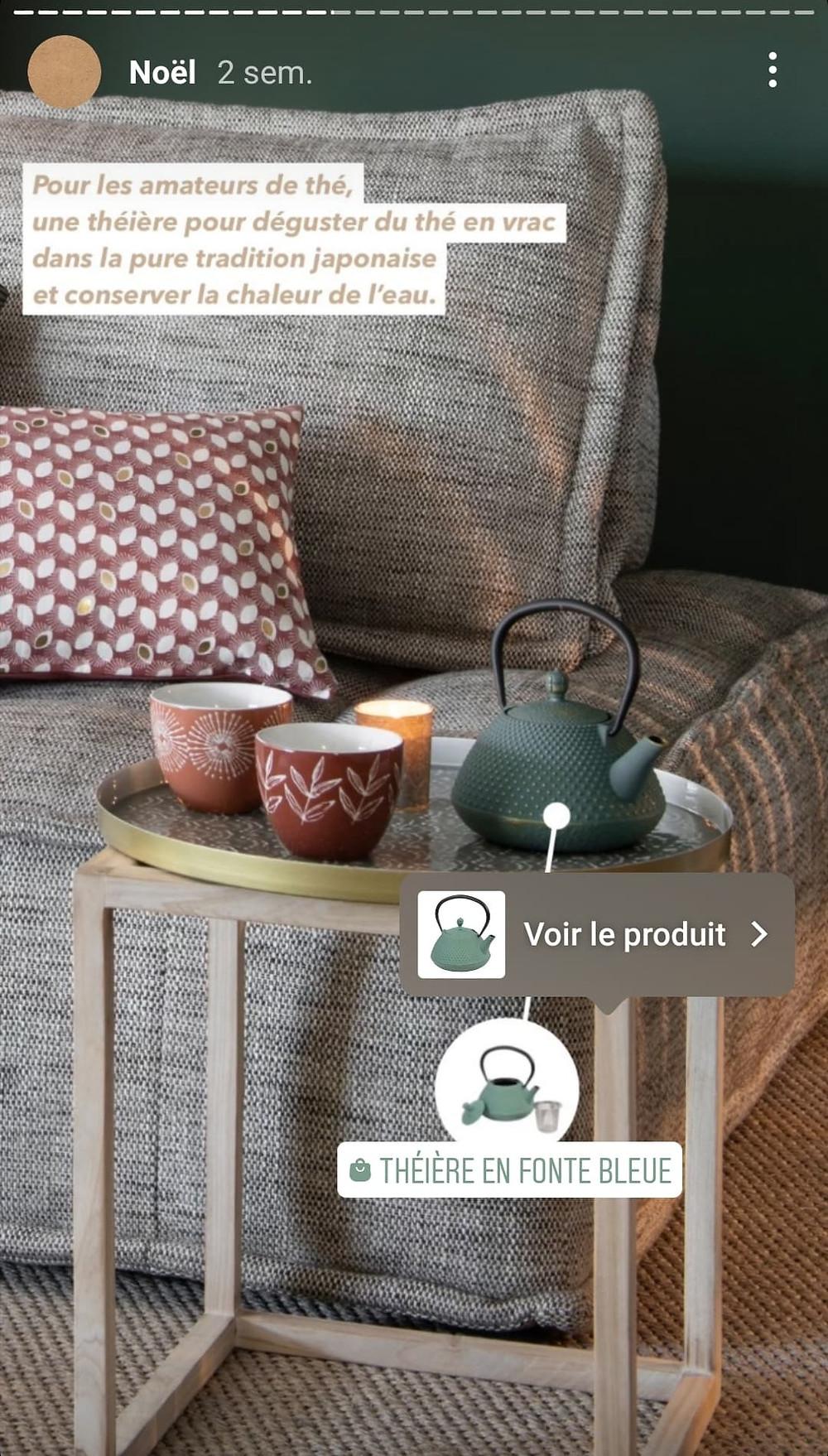 Story Instagram shopping