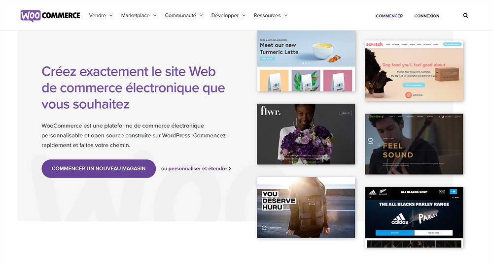 création boutique en ligne woocommerce