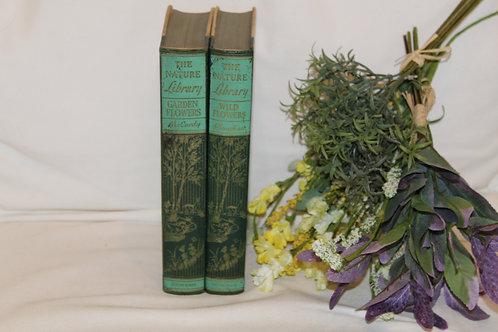 2 Farmhouse Garden Books The Nature Library Garden & Wildflowers