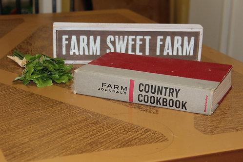 Farmhouse Kitchen Vintage  Farm Journal's Country Cookbook 1959