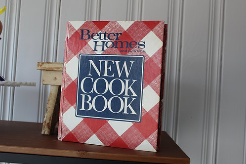 Vintage Better Homes and Garden Cook Book 1989 Tenth Ring Bound Edition