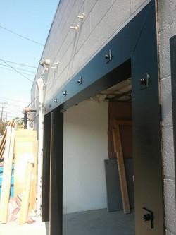 Welded Structural Steel Door Frame