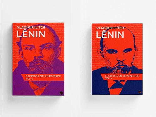 Escritos de Juventude de Lênin - volumes 1 e 2 [entregas a partir de abril]