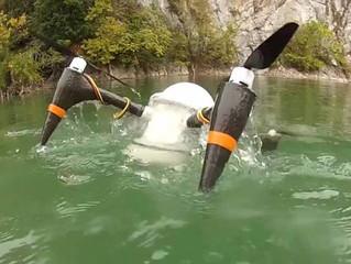 Drone anfíbio consegue se manter sob a água por meses como um submarino