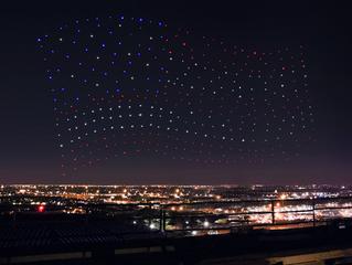 Gaga faz show no Super Bowl com drones da Intel – mas não ao vivo