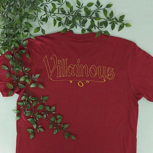 Villainous Jersey Style Tee