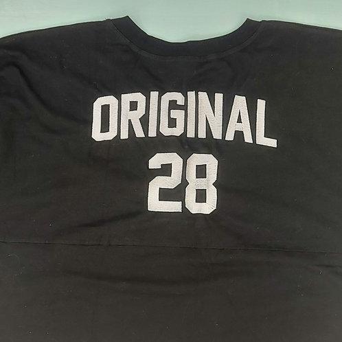 Sample Sale - Original 28 Black L Jersey Tee