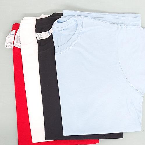 Blank - Black Ladies Fitted XL Tee