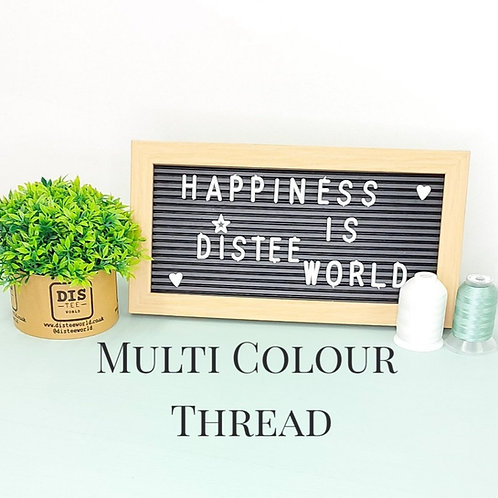 Additional Multi Colour Thread Charge