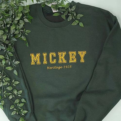 Mickey or Minnie Jumper