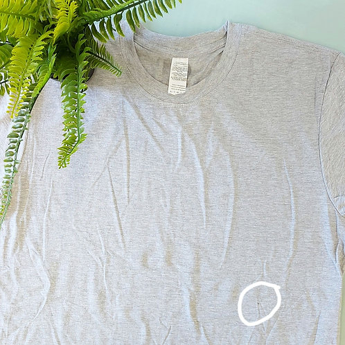Not Perfect - Any Design Grey L Tee