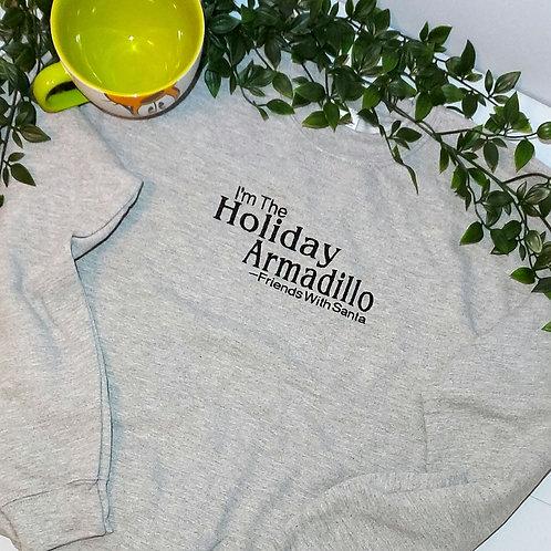 Christmas -  Holiday Armadillo T.Shirt