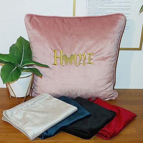 Home Embroidered Cushion COVER