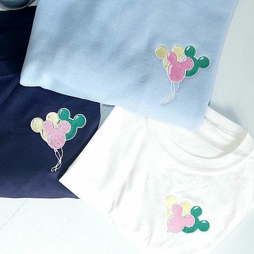 Mickey Balloons Tee