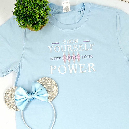 Elsa Step Into Your Power Tee