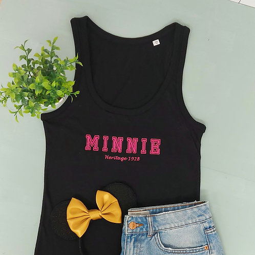 Mickey or Minnie Fitted Vest